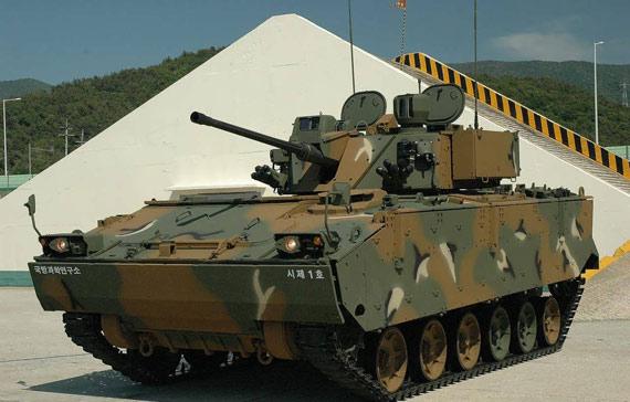 韩国新式步卒战车列装