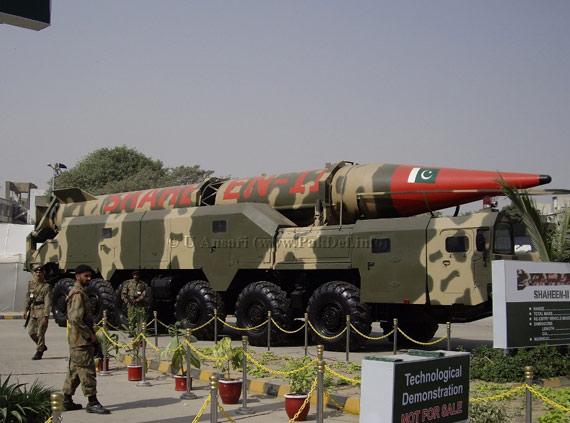印度媒体称巴基斯坦沙欣系列导弹技能来自我国
