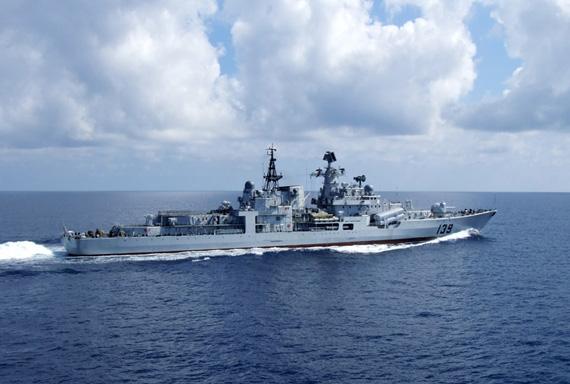 中国海军正试图自行出产现代级驱逐舰