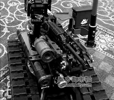 美军遥控机器人不分敌我