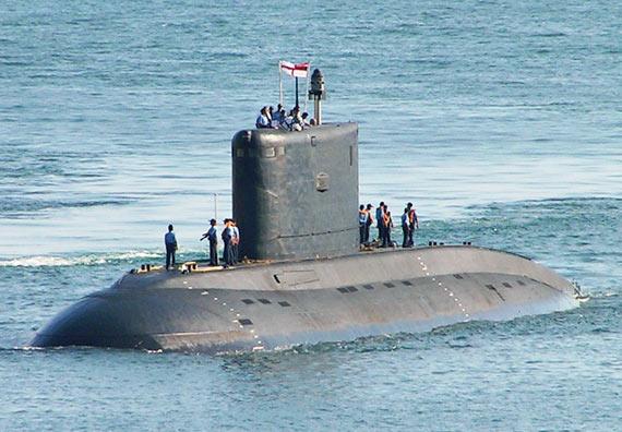 印潜艇改善技术落后,16艘艇中只剩7艘能用!