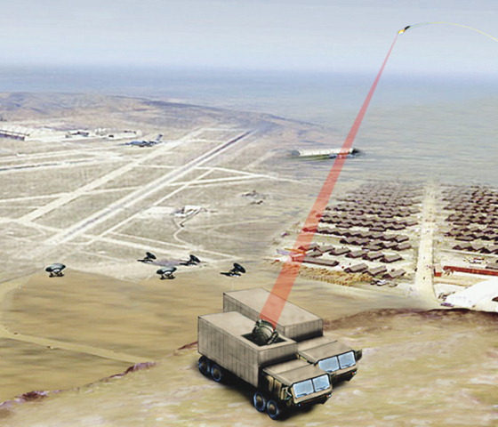 美国研发100千瓦级固态激光器完成兵器小型化