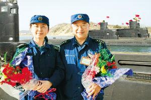 """中国海军某试验区""""导弹夫妻""""-大海深处射长箭"""