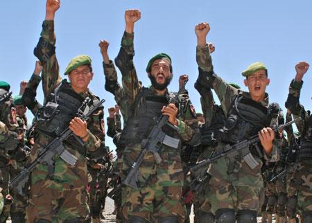美国将拨款30亿加快阿富汗武装力量现代化