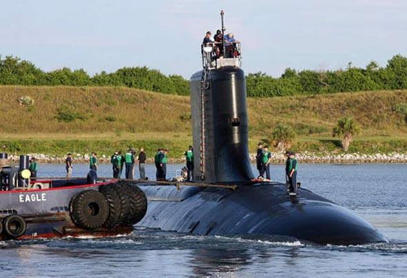 美国军队向太平洋会集核潜艇,坚持强势军事存在