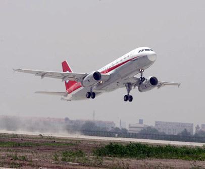 """空中客车A320飞机将装上我国描述的""""翅膀"""""""
