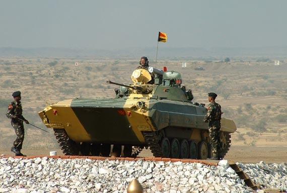 印度造出第一辆国产无人车,是BMP