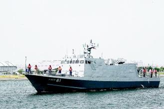 台湾媒体称台湾水兵隐秘研制900吨级飞弹巡防舰