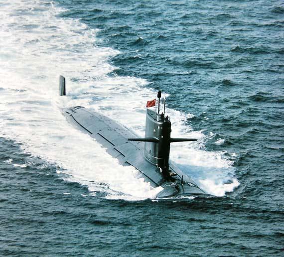 美军揭露比照中俄潜艇,称094型核潜艇噪音大