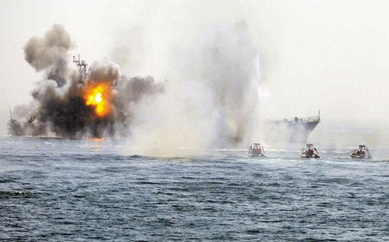 伊朗称预备年末与阿曼举办大规模联合军演