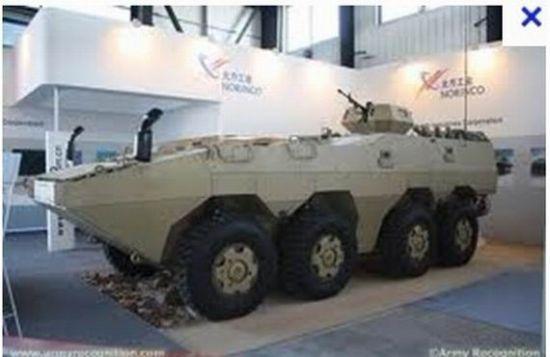 简氏称我国新式外贸8×8战车可对阵主战坦克