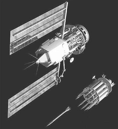 美军天基兵器设想:发射金属大棒冲击地上方针