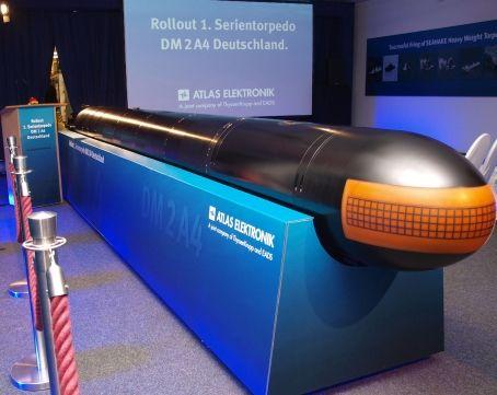 德国改善重型鱼雷射程可达140公里破记载