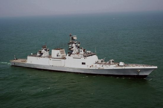 印度称其新式隐形护卫舰是在亚太抗衡我国主力