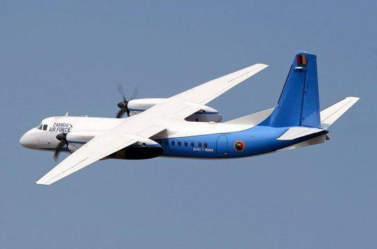 我国初次向柬埔寨空军交给新舟60飞机