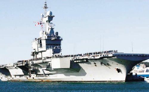 法国将协助印度制作首艘国产航母