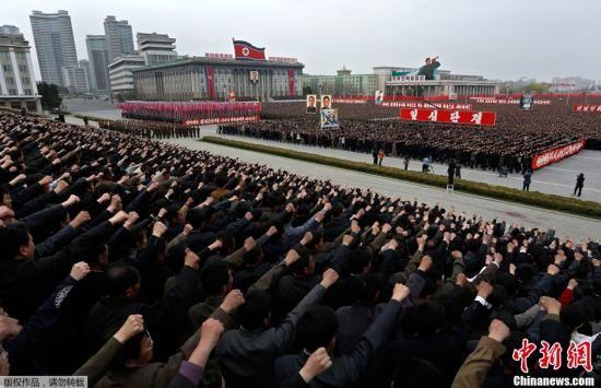 美国、日本、韩国联合军事演习是针对朝鲜 朝鲜朝中社报导