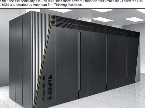 美国超级计算机重返国际第一位 我国银河一号第五位