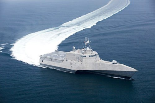 美军5年内收购16艘濒海战斗舰 共方案制作55艘
