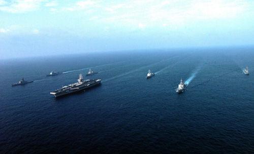消灭我国 美国欲在亚太地区鼓动大规模战役