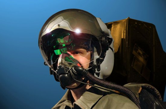 头盔面罩无法正常作业 美军F