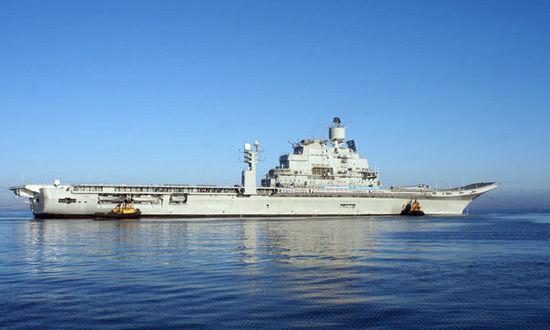 印度二手航母出色完成海试 下步将进行舰载机试飞
