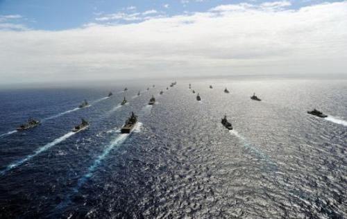 环太平洋军演包含航空母舰攻防战 但我国被扫除在外