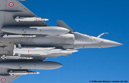 成功试射超音速核巡航导弹 法国空军阵风战斗机