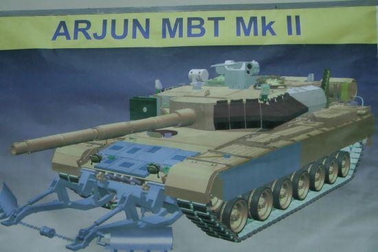 """印度""""阿琼MK2""""坦克行将开端测验 其间包括93处改善"""