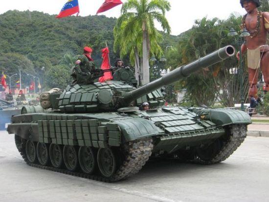 俄罗斯再次向委内瑞拉出售100辆T