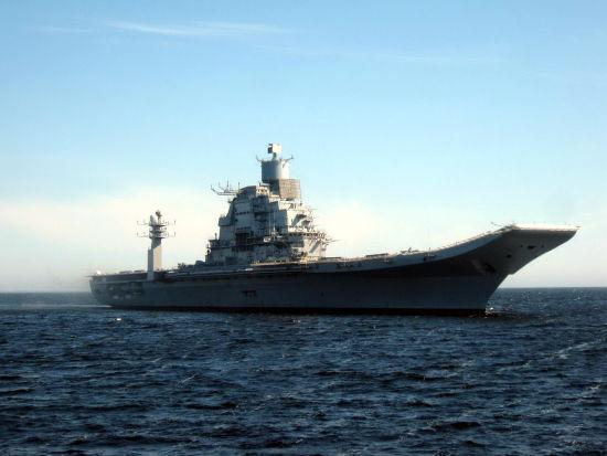 印度俄罗斯制作的二手航空母舰开端测验舰载机起降