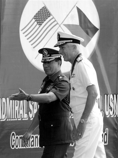 美军向菲律宾总统许诺将协助菲律宾戎行现代化