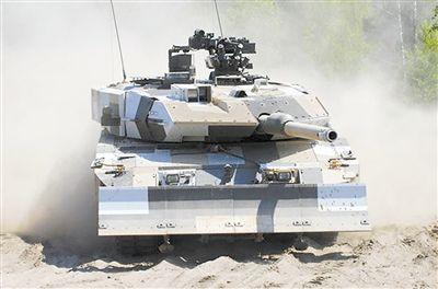德国出售豹2A7+坦克给沙特阿拉伯 选用尖端装备 本钱昂扬