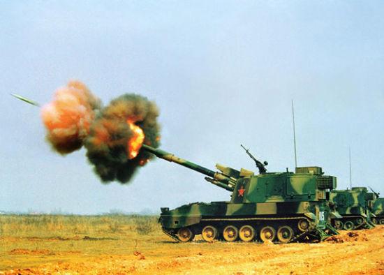 我国自行火炮出口数量居国际第4,而韩国居第1