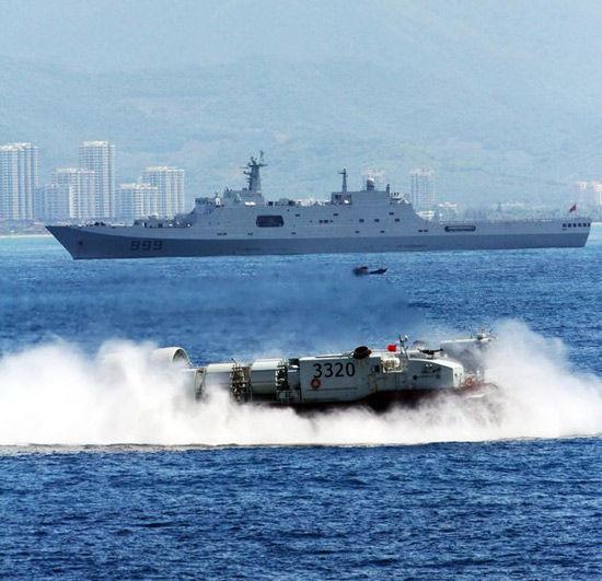 我国造大批新战舰 以阻挠美国介入我国近海