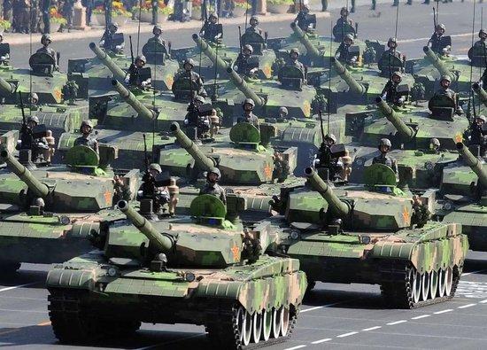 中国陆军全球最强 日本称近三千架战机仅次美国