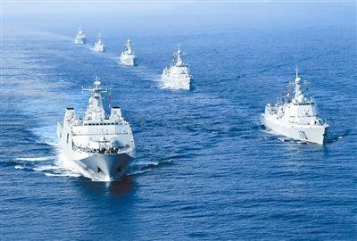 我国水下快速构成战斗力 十年间国产战舰密布下水