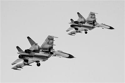 """我国歼11重型机群对抗战中遭""""敌""""搅扰被打败"""