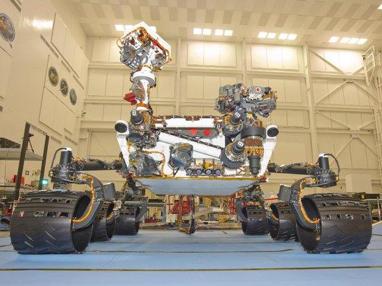 美国核动力勘探车6日登陆火星 将阅历恐惧7分钟