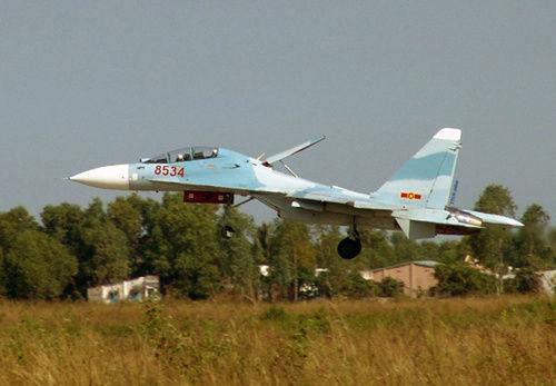 越南配备东南亚最大苏系战机群 可掩盖部分我国南海