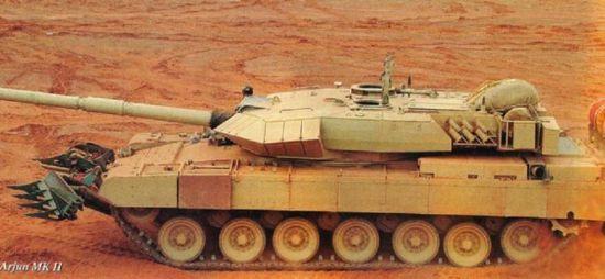 印度揭露最新阿琼MK2坦克 单价660万美元