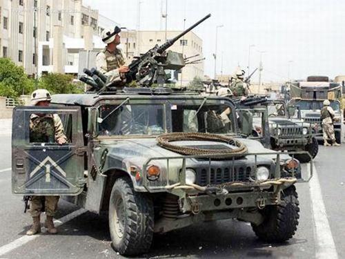 美国将中东基地2000辆二手悍马车 转让给以色列
