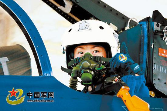中国空军第一位歼