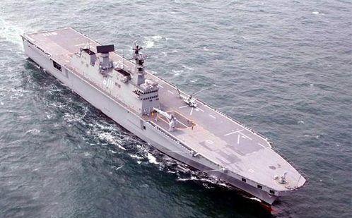 韩国将制作第二艘独岛级两栖进犯舰