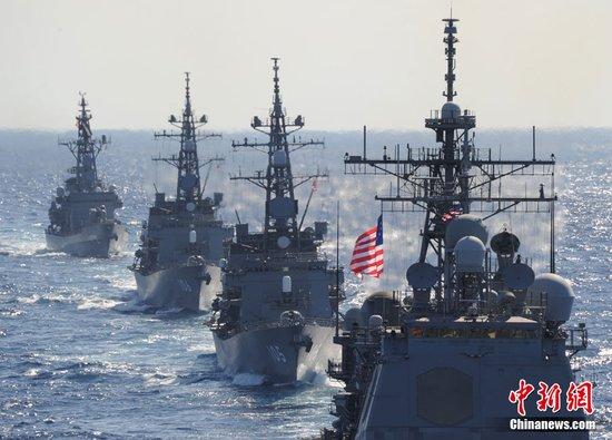 """美国不会冒着""""对我国开战""""的危险来操控太平洋"""