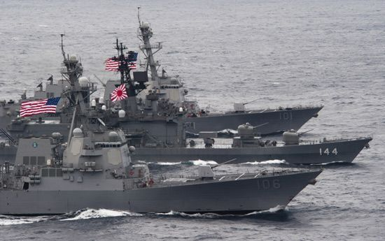 """美国与日本今起将举办联合军演 演练内容""""夺回钓鱼岛"""""""
