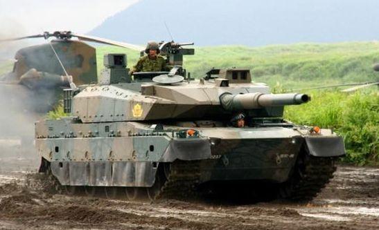 日本演练岛屿争夺战 将其最先进10式坦克也拿出露脸