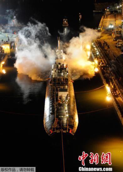 """美国为失火的核潜艇""""买单"""" 价值近5亿美元"""