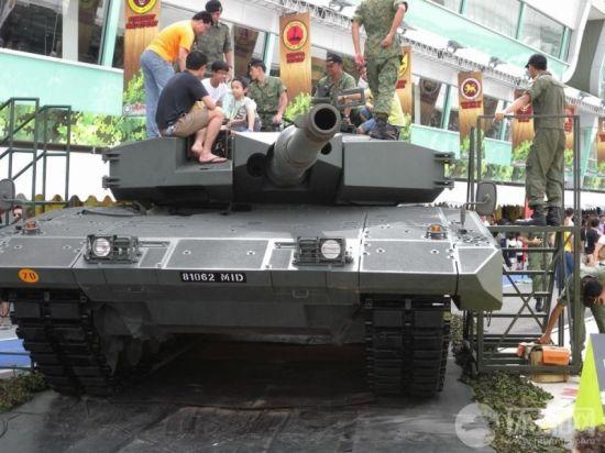 印尼国防部宣告将收购100辆德制豹2主战坦克