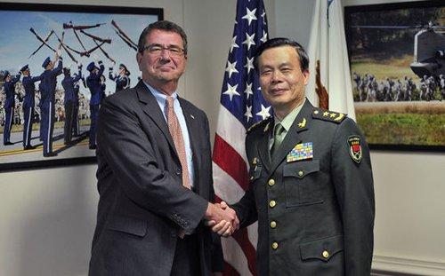 我国副总参谋长就钓鱼岛问题与美国说话 表强硬态度